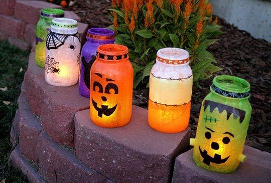 Классные светильники для Хэллоуина. #Хэллоуин #Helloween  #оформлениехэллоуина #страшныйхеллоуин #фонарьджека #Хеллоуин #оформление #декор #дизайн #банкет  #флористика #композиция