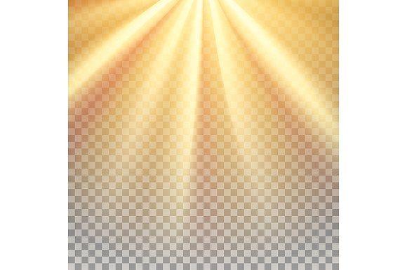 Yellow Sun Rays Flare Yellow Sun Sun Rays Texture Photography