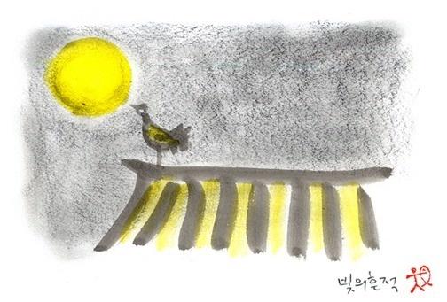 달밤에 체조 - 정혜신의 그림에세이, 일백예순일곱번째 :: 더 홀가분