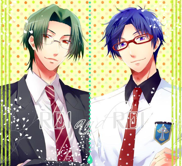 Hirakawa Daisuke characters Love stage!! x Free! Same