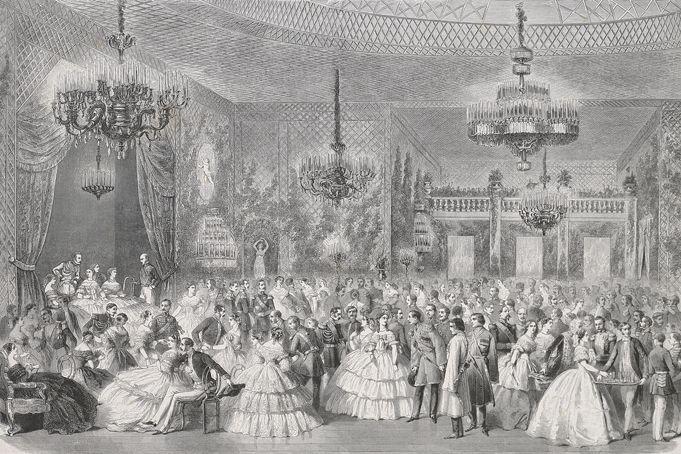 Romanov Coronation album image, Pageant of the Tsars exhibit - Hillwood
