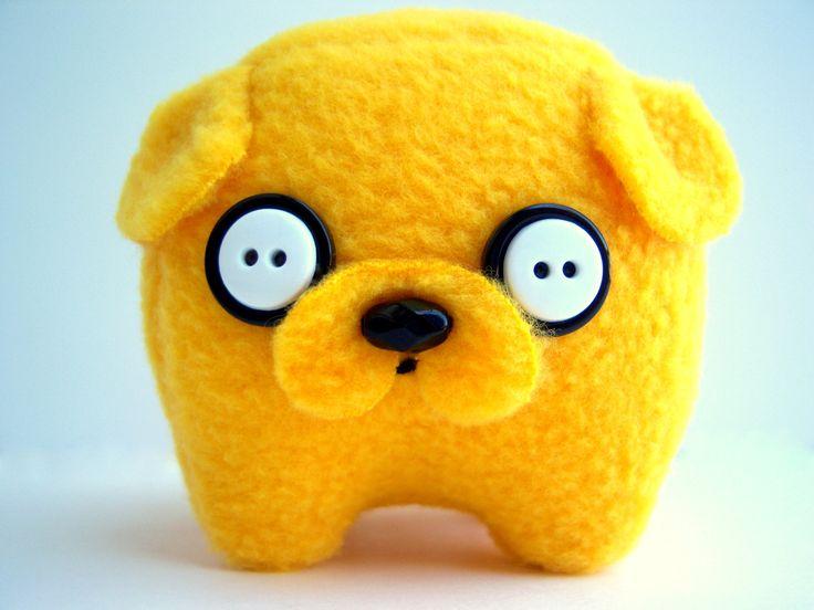 Jake the Dog, Baby Jake Plush, Adventure Time Jake. $35.00, via Etsy.