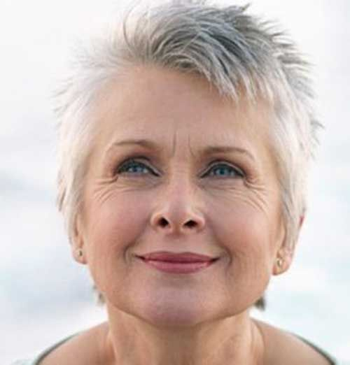 Pity, edgy haircut for mature woman not