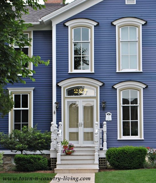 Home Tour In The Historic District Of Naperville Illinois Paint Colors Exterior Trim And
