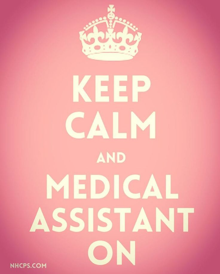 "KEEP CALM AND #MEDICALASSISTANT ON! Today is the first day of National #medical #assistant week and we couldn't be more excited to honor all of the medical assistants we can. To kick off the week, we've created an #Infographic on our blog: ""What Does it Take to be a Leading Medical Assistant?"" Check it out at www.nhcps.com/blogs #nurselife #medicalassisting"