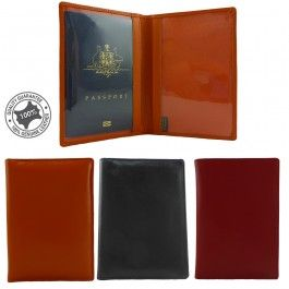New Genuine Full Grain Leather Passport Cover,Protector S-405