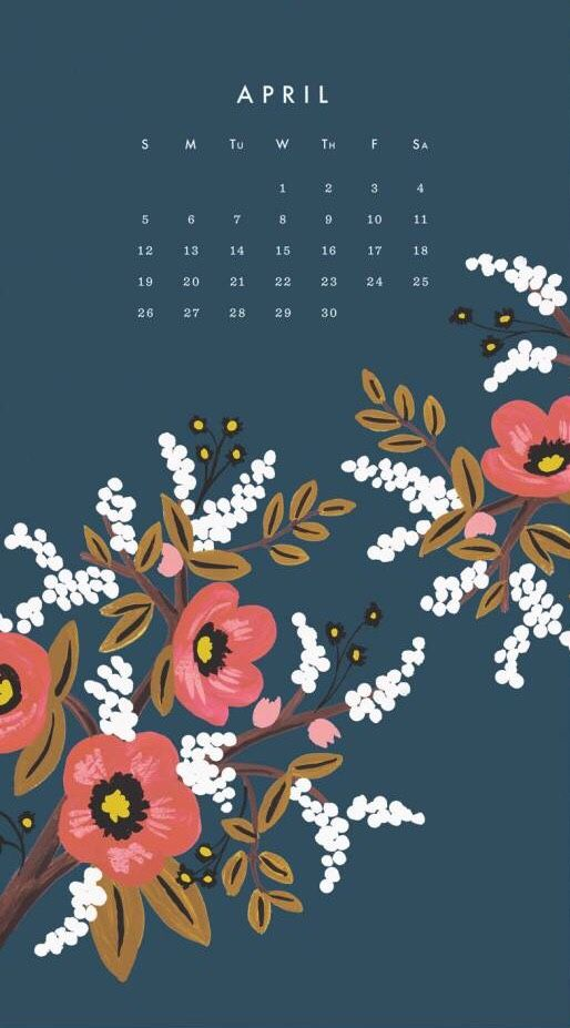 Calendar Wallpaper Mac : Floral design pink against grey rifle paper co via