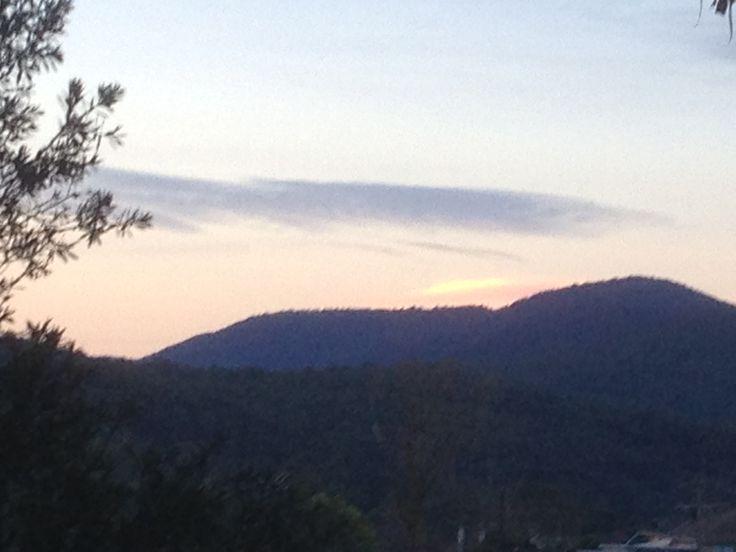 Day 92 Winter. The last Winter Sunset.