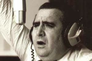José María Muñoz, locutor, periodista, relator deportivo. Radio Rivadavia, Buenos Aires (1924-1992).