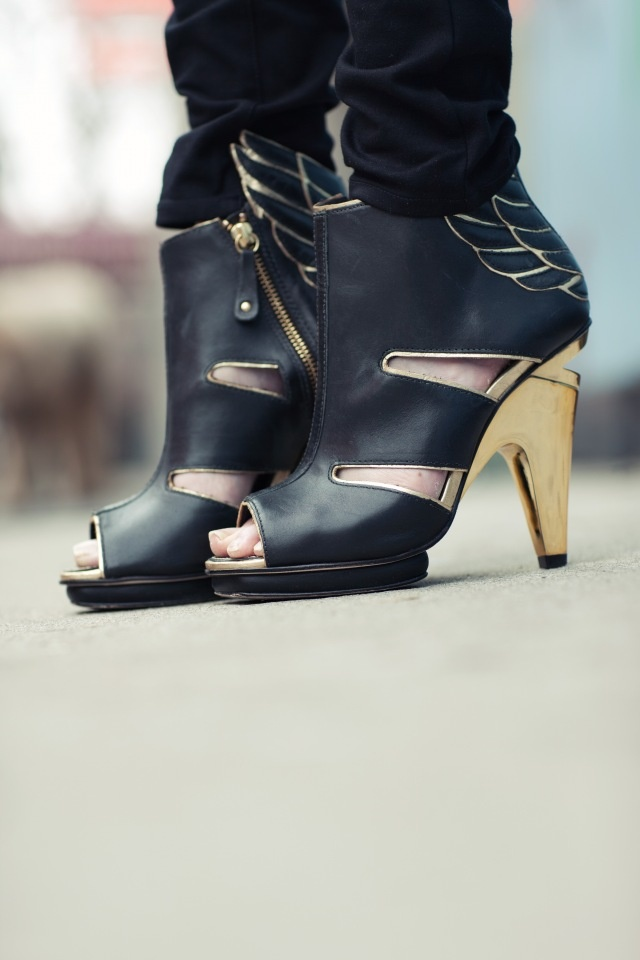 Wing High Sandals
