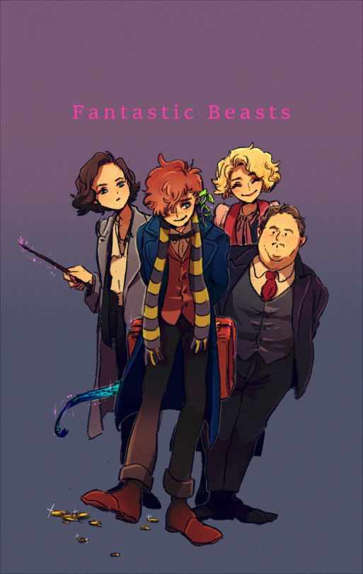 Fantastic Beasts by umumumu