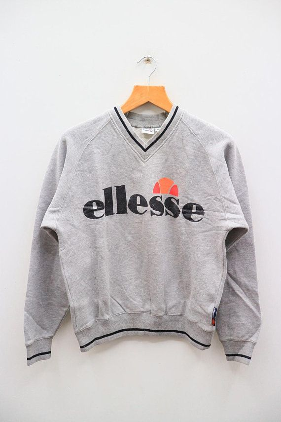 ellesse sweater grey ver
