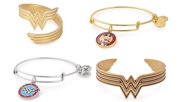Joyería de la superheroína Wonder Woman de Alex y Ani