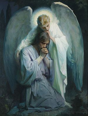 "One of the greatest pictures of Christ. Here's a great talk too: ""Encircled in His Gentle Arms"" - President Dieter F. Uchtdorf"