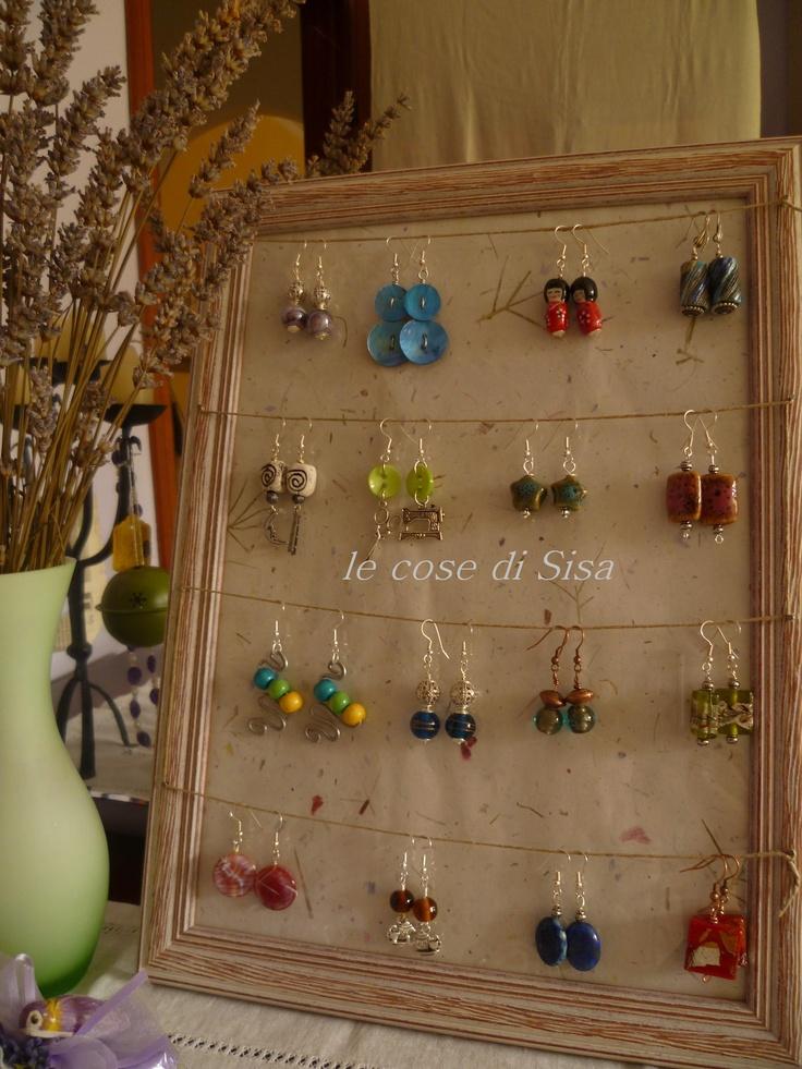18 migliori immagini porta orecchini su pinterest - Porta orecchini ikea ...