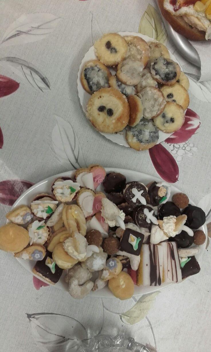 Naše svatební cukroví a koláčky