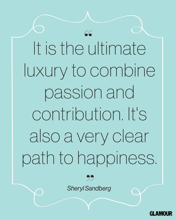 Happiness Quote From Facebook COO and Lean In Author Sheryl Sandberg