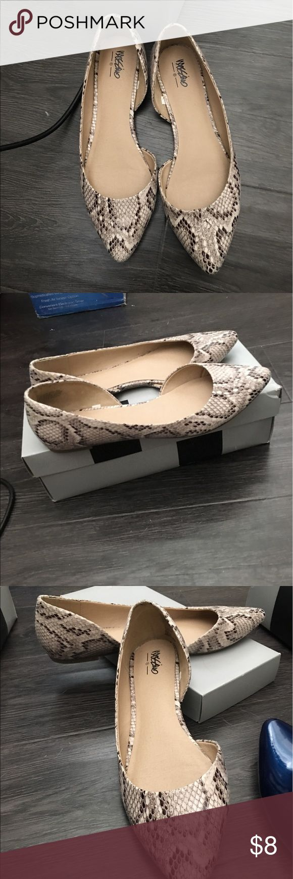 Leopard print flats Cute leopard print shoes - worn once - didn't fit Mossimo Supply Co Shoes Flats & Loafers