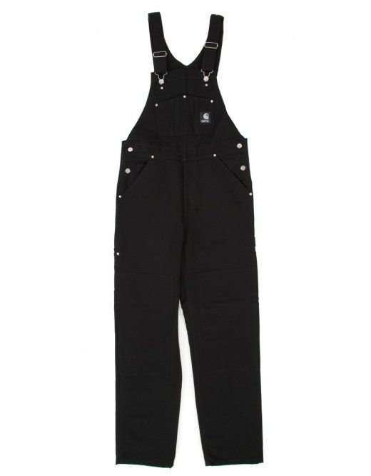 Carhartt XXV Bib Overalls - Black Rigid - Carhartt from Fat Buddha Store UK