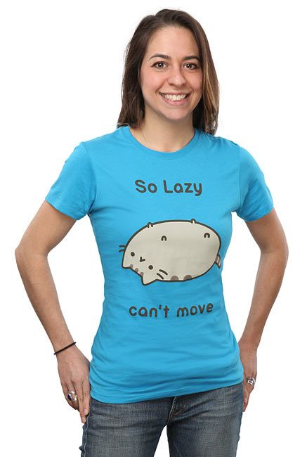 So Lazy Can't Move Pusheen Babydoll