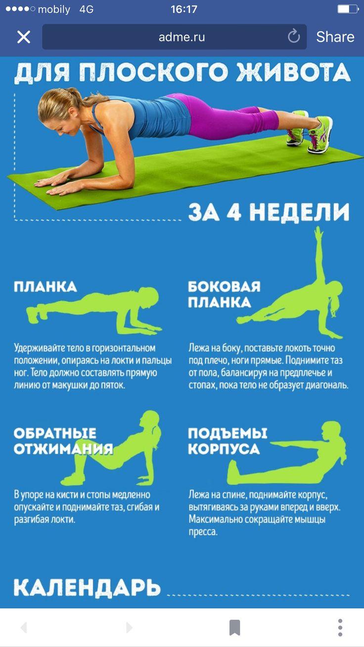 Упражнения которые помогут сбросить вес