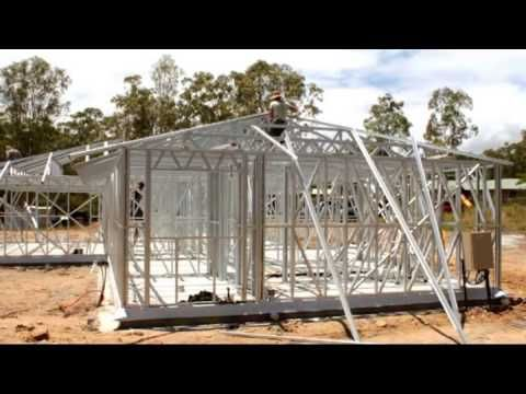 This is AMAZING! 2906 Sq. Ft. Steel Kit House Built in 1 Day! You Have to See This! | Metal Building Homes