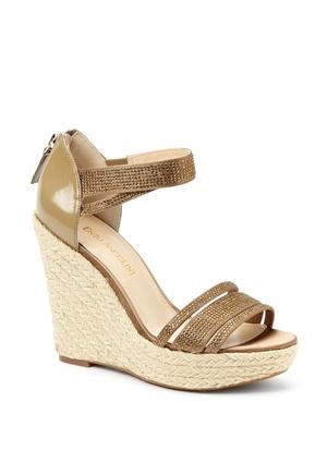 Mens Sandals Enzo Angiolini 6 5m Black Snake Multi Leather Wedge Espadrilles Sandals Savings
