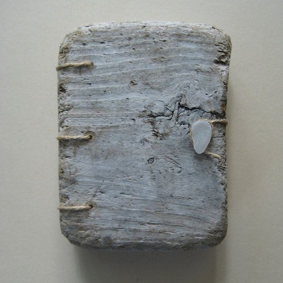Driftwood covered handmade book or journal by Joanna Caskie £40.00