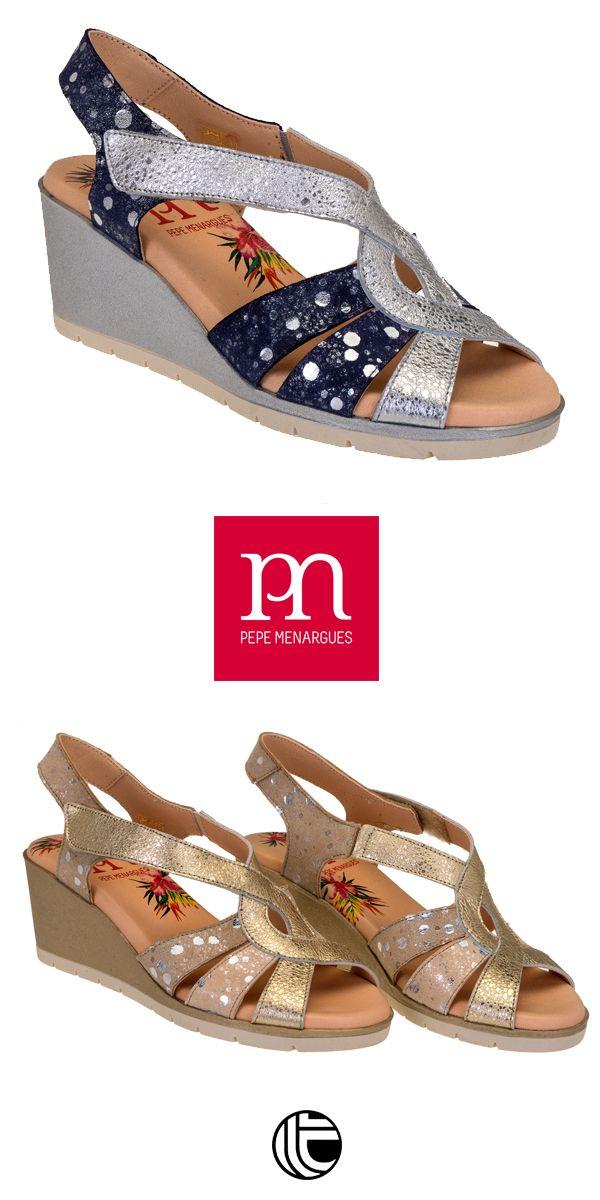 0abdeef0248 Colección PEPE MENARGUES - verano 2019 | Sandalias de mujer Cómodas en 2019  | Zapatos, Zapatos mujer y Zapatos casuales
