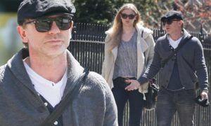 Daniel Craig With Daughter Ella Craig