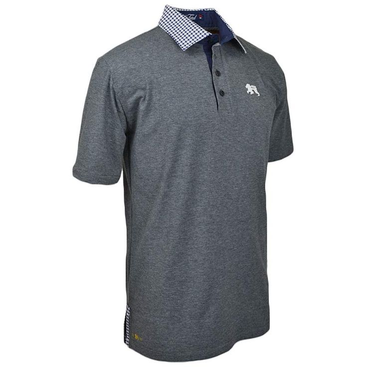 Crescent Knight Polo - Alial Fital American made polos for men - 6