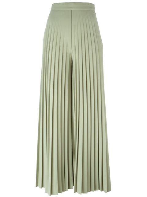 Givenchy pleated palazzo pants