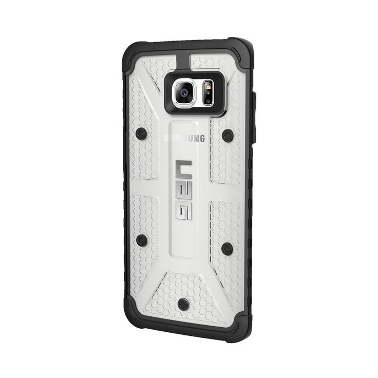 Urban Armor Gear - Ice Case for Samsung Galaxy S7 edge - Black/Ice (Black/White)