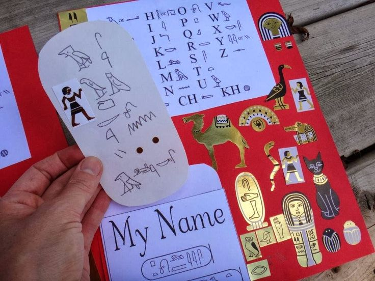how to write my name in ancient egyptian