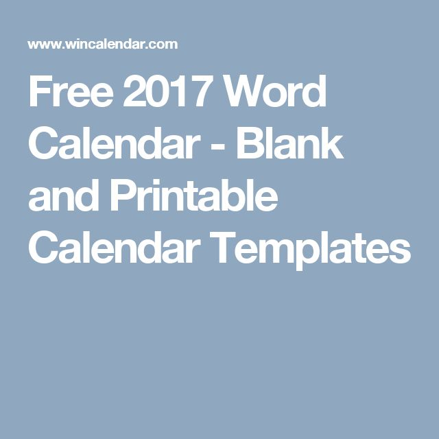 The 25+ best 2017 calendar template word ideas on Pinterest Free - microsoft word weekly calendar