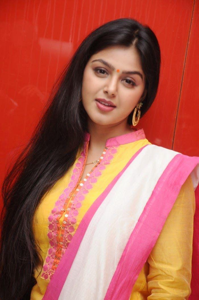 Beautiful Monal Gajjar Cute Stills in Yellow Chudithar