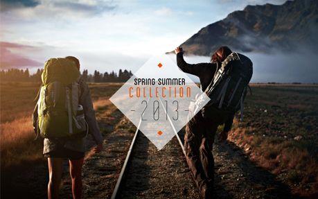 Quechua – Look Book Spring Summer 13 10 June 2013 http://www.awwwards.com/web-design-awards/quechua-look-book-spring-summer-13 #webdesign #inspiration #UI #Clean #Single page #Animation #Photography #Parallax #Scroll #Black #White #Orange