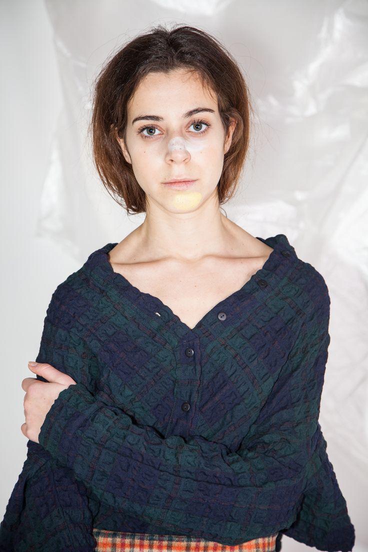 Camicia ANYA in CHECK BLU Disponibile ora dalla taglia 38 alla 46  Cucù Lab AW1415 #Woman http://www.cuculab.it/prodotto/564/ANYA_CHECK_BLU.html