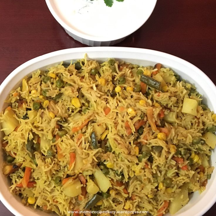 Vegetable Pulao is an easy one pot comfortmeal made with rice(Basmati Rice), vegetables and Indian spices.