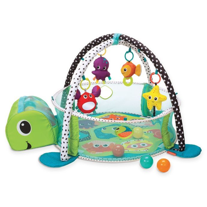 Infantino Grow With Me Activity Gym Ball Pit Bed Bath