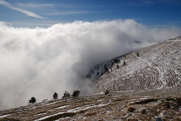 On the slopes of Mount Falakro, region of Drama