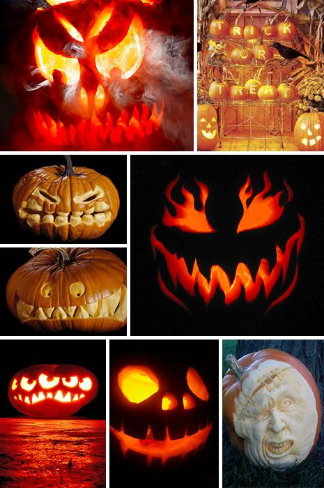 Halloween carving crafts diy decoration creepy jack o lantern love these will have to try - Charming halloween decoration using love pumpkin carving ...