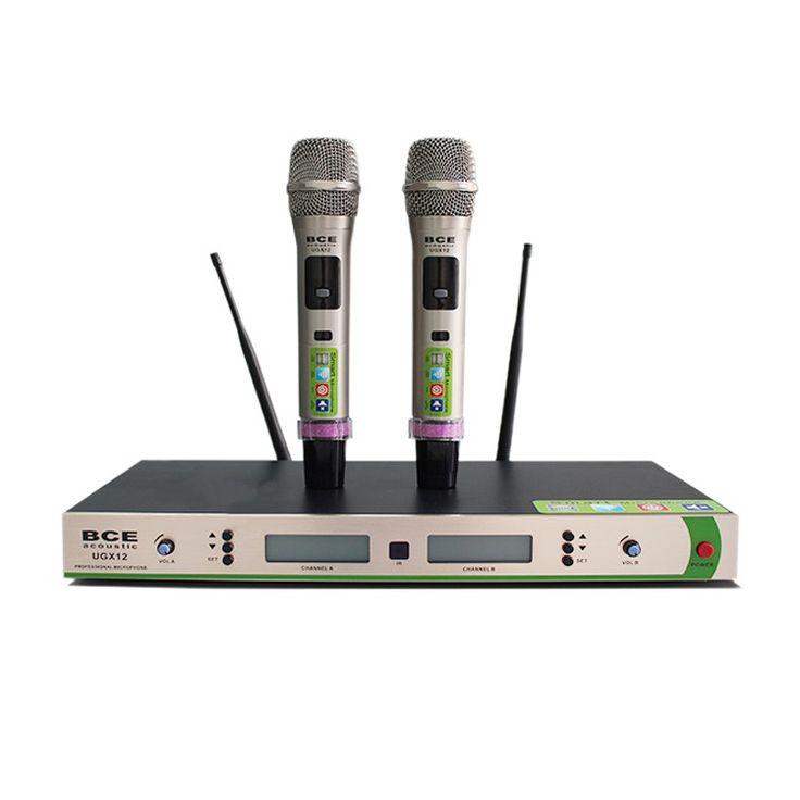 Micro không dây BCE UGX12 sở hữu thiết kế ưu Việt, trang bị công nghệ xử lý cao cấp từ Hoa Kỳ. Mua Micro BCE UGX12 với giá tốt nhất tại Khang Phú Đạt Audio. http://thietbiamthanh24h.com/micro-karaoke/micro-bce-ugx12.html