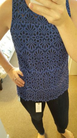 Stitch Fix Skies are Blue Rashrod Lace Overlay Blouse (1)