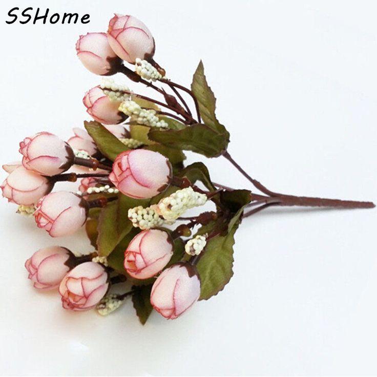 Mini Gül Yapay Çiçekler Çeşitli Renkler Yatak Odası Salonu Tatil Düğün Parti Ev Dekorasyon Ev Eşyaları Ücretsiz Nakliye
