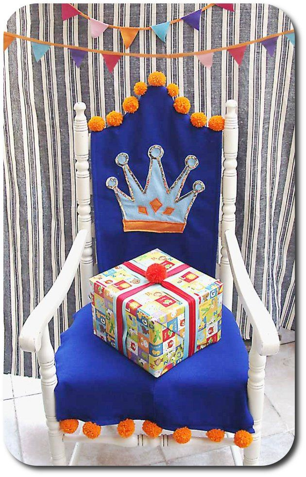 Making A Throne Out Of Table Chair And Because Every