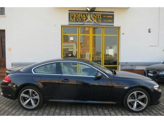 Bmw 635 d coupè, pelle+navi+bluetooth a 38.250 Euro | Coupe | 27.500 km | Diesel | 210 Kw (286 Cv) | 04/2009