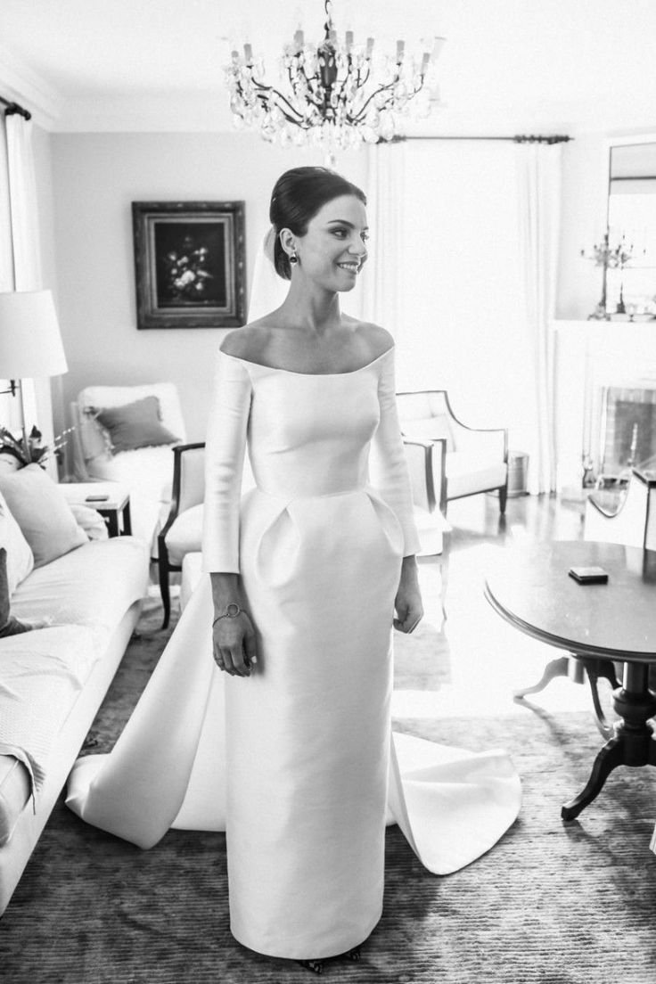 50 Beautiful Long-Sleeved Wedding Dresses