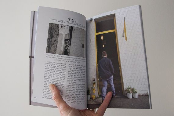 Espresso Tales Magazine Volume 2 a by EspressoTalesMag on Etsy - (Tiny Cafe in Melbourne) #coffee #cafes #Melbourne #magazine #publishing #Photography