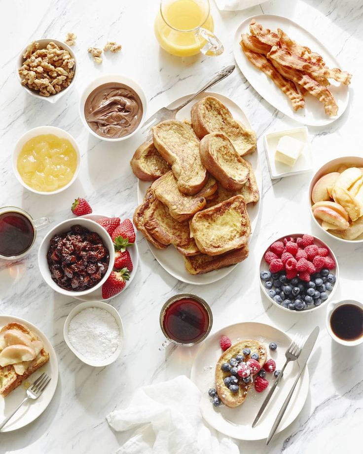 French Toast Bar Image Via What's Gaby Cooking
